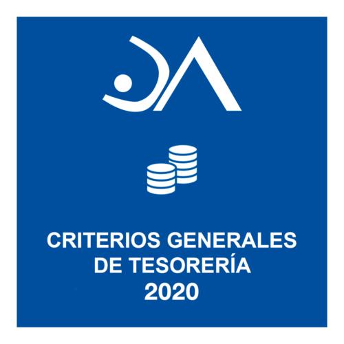 Criterios anuales de gestión económica de la Delegación.