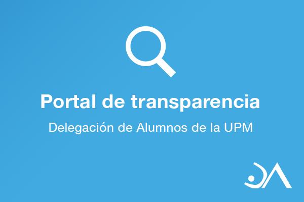 Portal de Transparencia DA-UPM