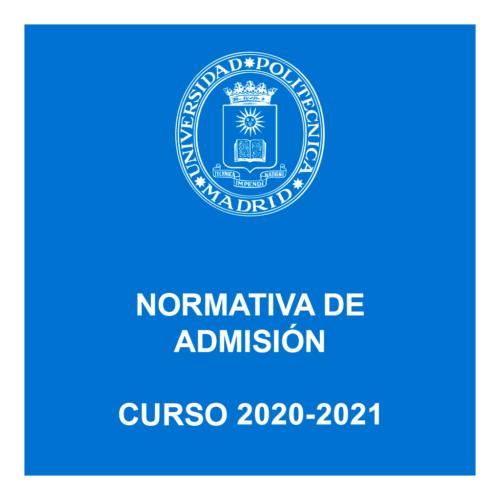 Requisitos de admisión, vías, solicitud, documentación…